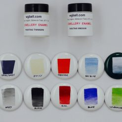 enamel painting colour set