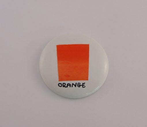 Orange painting colour