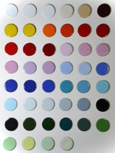 Figure 1: Opaque Enamelled Blanks